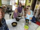 Friday afternoon lunch with fellow teachers (Malacca, Malaysia)