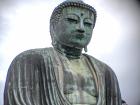 """The Kamakura Daibutsu, or """"Big Buddha"""""""