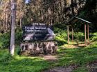 Starting my hike at Irazu National Park!