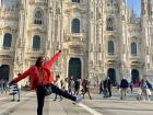 My first visit to the famous cathedral in Milan, Duomo di Milano!
