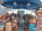 Our group managed to take a boat excursion that fit us all!