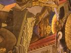 A depiction of a powerful Incan emperor outside in Cusco... it gave me chills!