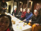 Our goodbye dinner in Kathmandu with our new friends from Nepal and Austrailia