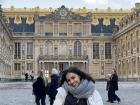 Me in front of the Palace of Versailles