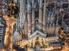 A sneak peak of Barcelona, looking at the Cathedral of Barcelona