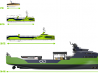 Ocean Infinity's four different sizes of Armada ships